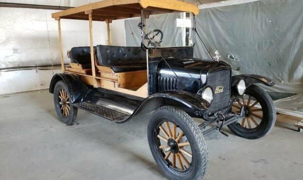 1919 Ford Model T depot hack