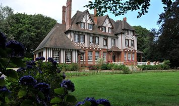 House in Dieppe, Normandy, France 1