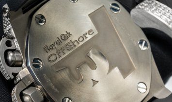 "Audemars Piguet Royal Oak Offshore 25863TI.OO.A001CU.01 T3 'Terminator"" Titanium Bespoke Diamond Set"