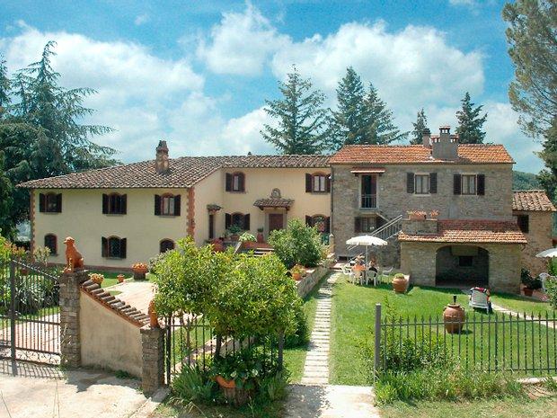 Farm Ranch in Rufina, Tuscany, Italy 1