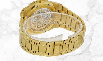 Audemars Piguet 25829BA.OO.0944BA.01 Royal Oak Openworked Perpetual Calendar 18K Yellow Gold