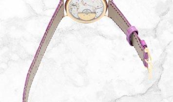 Patek Philippe Calatrava 7200/200R-001 Ultra-thin in Rose Gold with Diamond Bezel