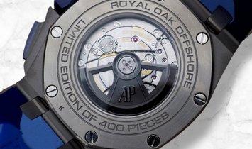 Audemars Piguet 26400SO.OO.A335CA.01 Royal Oak Offshore Selfwinding Chronograph SS Blue Dial