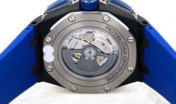 Audemars Piguet 26405CE.OO.A030CA.01 Royal Oak Offshore Chronograph Black Ceramic Smoked Blue Dial