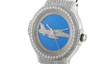 Hublot Hublot MDM White Gold F-16 Fighting Falcon Watch 1582.4