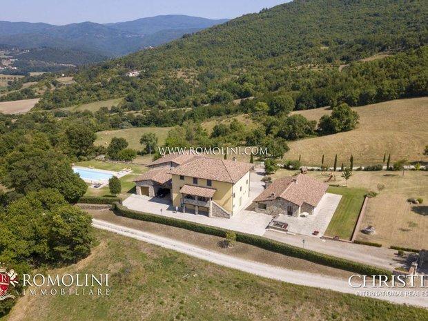 House in Poppi, Tuscany, Italy 1