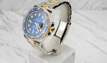 Rolex Submariner Date 126613LB-0002 Oystersteel and Yellow Gold Royal Blue Dial