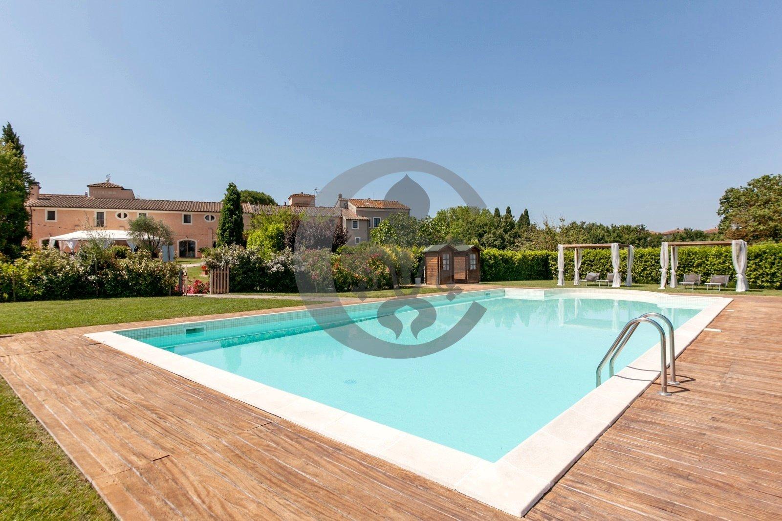 Villa in Camugliano, Tuscany, Italy 1