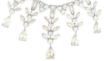 LB Exclusive LB Exclusive Platinum 45.00 ct Diamond Necklace