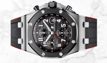Audemars Piguet 26470SO.OO.A002CA.01 Royal Oak Offshore Chronograph Stainless Steel Black  Dial