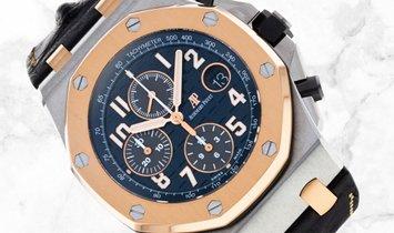 Audemars Piguet 26471SR.OO.D101CR.01 Royal Oak Offshore Chronograph Stainless Steel Blue  Dial