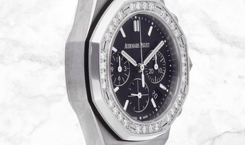 Audemars Piguet 26231ST.ZZ.D002CA.01 Royal Oak Offshore Chronograph Stainless Steel Black Dial