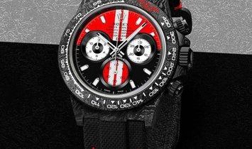 "Rolex DiW [NEW] NTPT Carbon Daytona ""MONZA"" (Retail: US$55,500)"