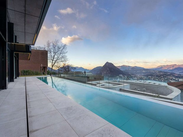 Villa in Lugano, Ticino, Switzerland 1