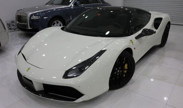 White Ferrari 488 Gtb For Sale Jamesedition