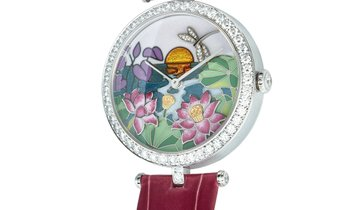 Van Cleef & Arpels Van Cleef & Arpels Diamond Flower Garden Watch 3610165