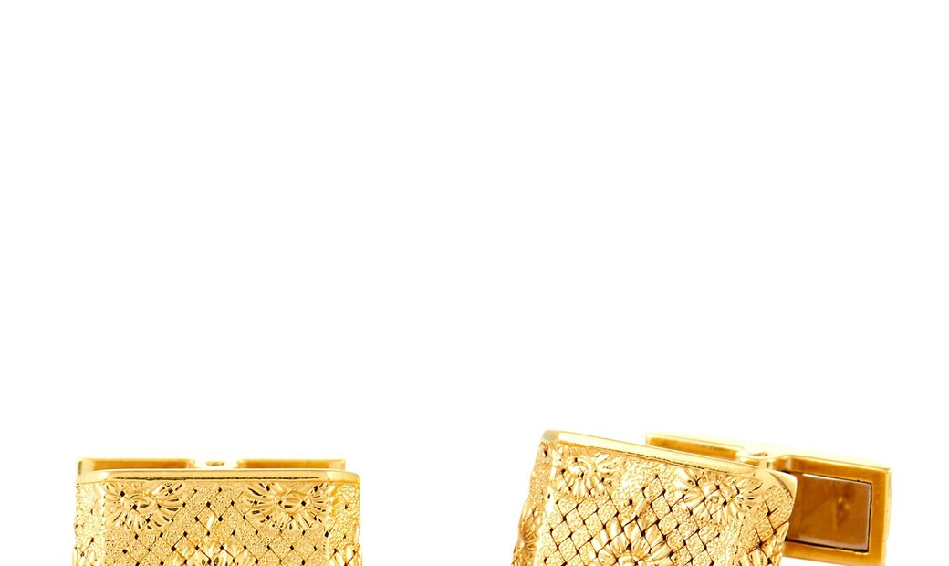 Boucheron Boucheron Vintage 18K Yellow Gold Cufflinks