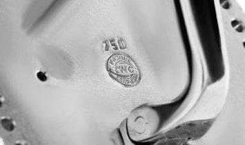 IWC IWC 18K White Gold 1.50 ct Diamond Cufflinks