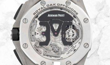 Audemars Piguet 26388PO.OO.D027CA.01 Royal Oak Offshore Tourbillon Chronograph 950 Platinum