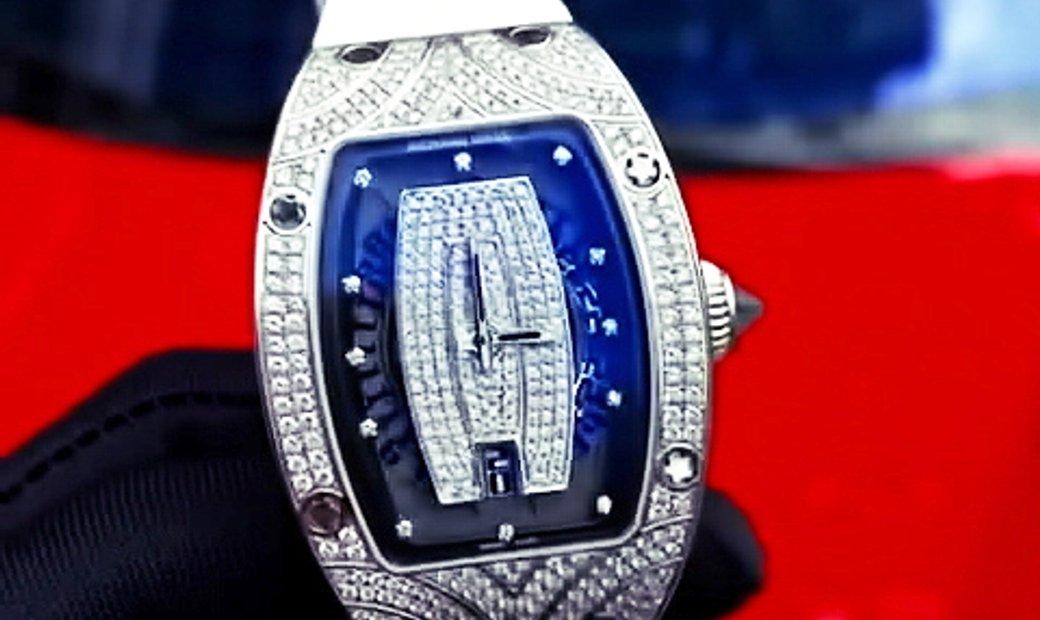Richard Mille RM 07-01 White Gold Diamond Watch