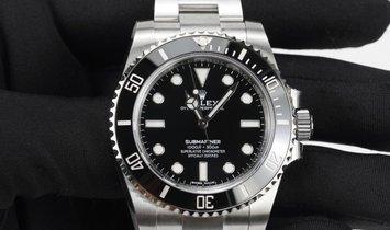 Rolex Submariner 114060-0002 Oystersteel Black Dial