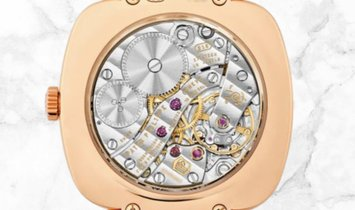 Patek Philippe Gondolo 7041R-001 Small Seconds Rose Gold Diamond Set Inner Flange
