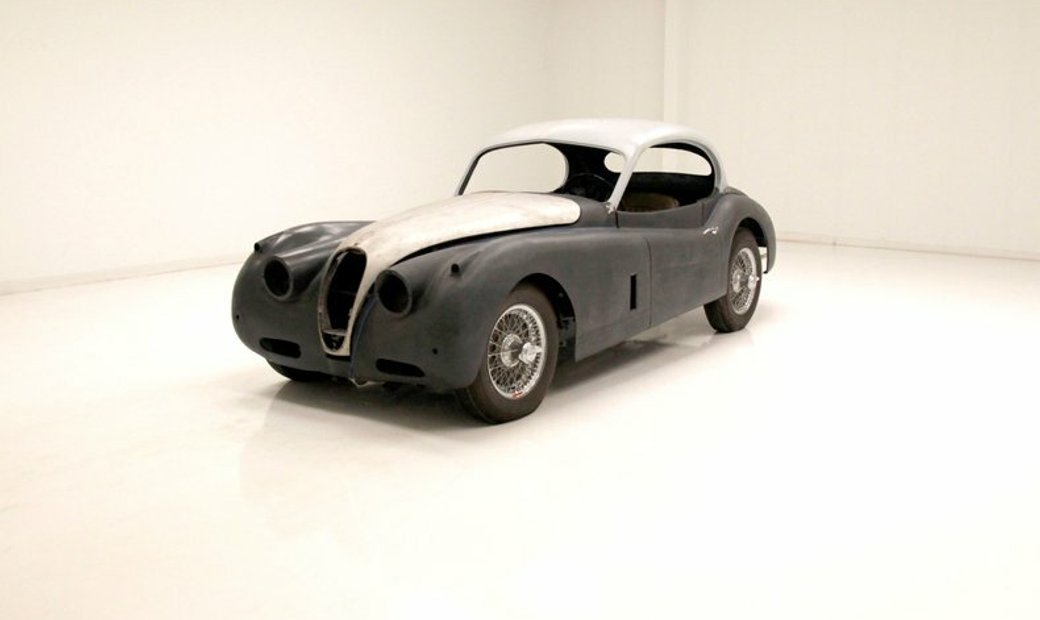 1957 Jaguar XK140 Coupe
