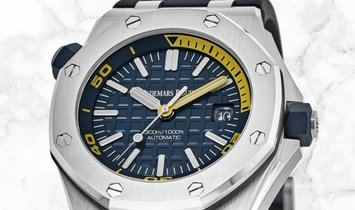 Audemars Piguet 15710ST.OO.A027CA.01 Royal Oak Offshore Diver Stainless Steel Blue Coloured Dial