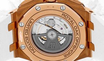 Audemars Piguet 26408OR.OO.A010CA.01 Royal Oak Offshore Chronograph Summer Edition 18K Rose Gold