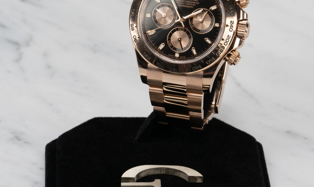 Rolex Daytona Cosmograph 116505-0008 Everose Gold Black and Pink Dial