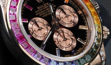 Rolex Daytona 116595RBOW Everose Rainbow Bespoke