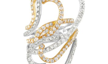 LB Exclusive LB Exclusive 18K White and Yellow Gold 2.55 ct Diamond Ring