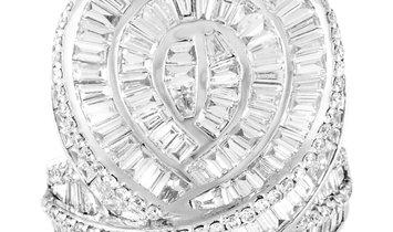 LB Exclusive LB Exclusive 18K White Gold 3.82 ct Diamond Ring