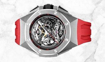 Audemars Piguet 26587TI.OO.D067CA.01 Royal Oak Concept Tourbillon Chronograph Sandblasted Titanium