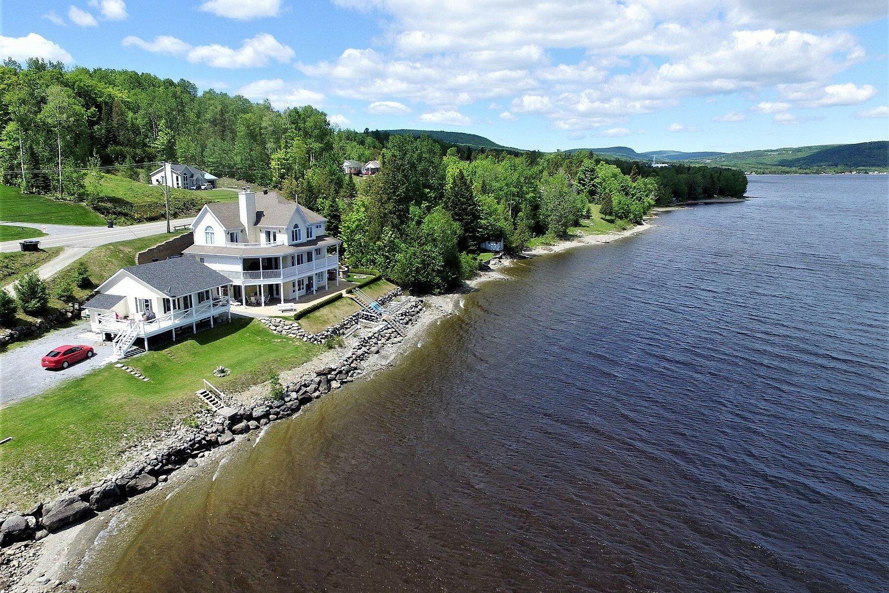 House in Pohenegamook, Quebec, Canada 1