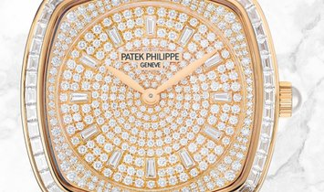 Patek Philippe Gondolo Haute Joaillerie 7042/100R-010 White Gold Akoya Pearls Diamond Set