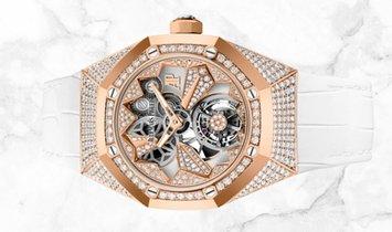 Audemars Piguet 26227OR.ZZ.D011CR.01 Royal Oak Concept Flying Tourbillon 18K Rose Gold Diamond-Set