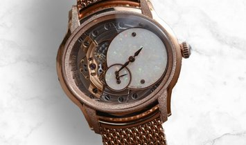 Audemars Piguet 77244OR.GG.1272OR.01 Millenary Frosted Gold Hammered and Satin-Finished
