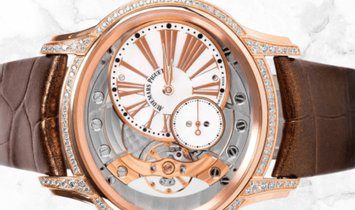 Audemars Piguet 77247OR.ZZ.A812CR.01 Millenary Hand-Wound 18K Rose Gold White Mother-of-Pearl Dial
