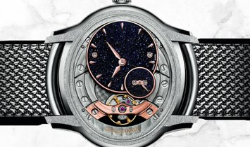 Audemars Piguet 77244BC.GG.1272BC.01 Millenary Frosted Gold Hammered and Satin-Finished