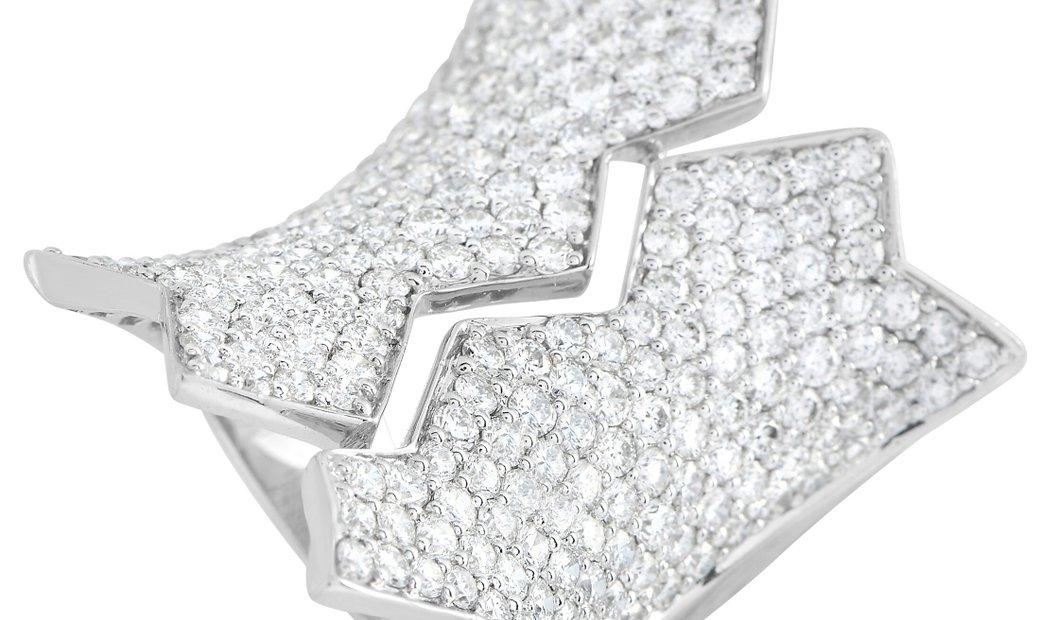 LB Exclusive LB Exclusive 18K White Gold 4.90 ct Diamond Ring