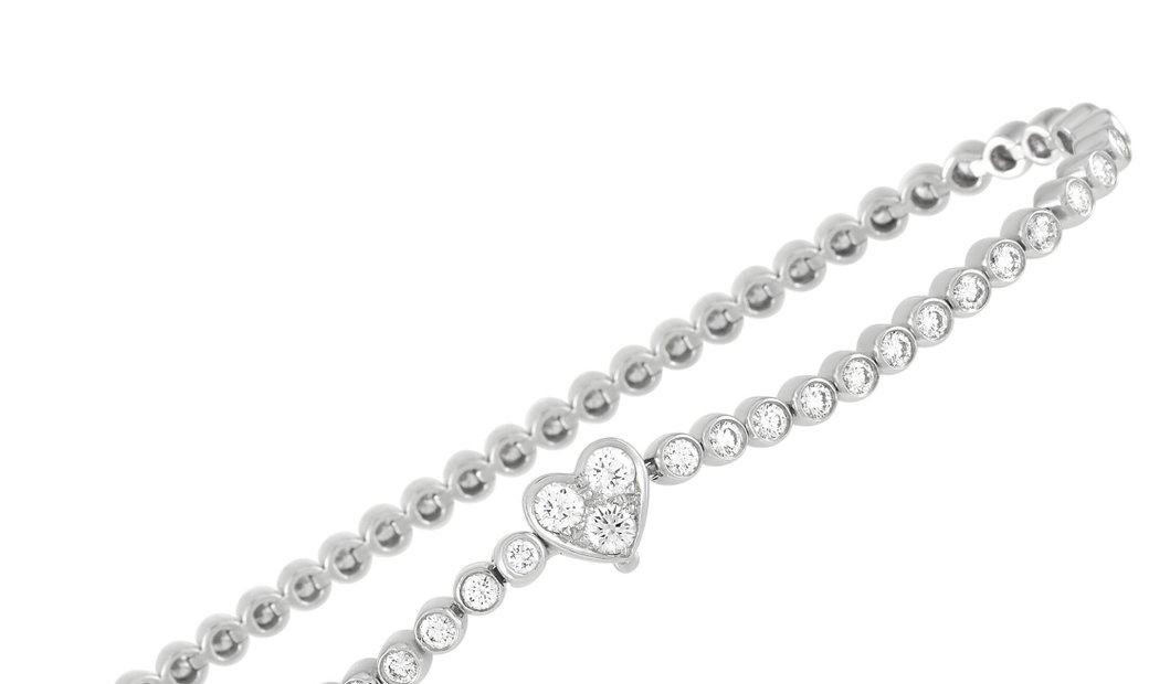 Tiffany & Co. Tiffany & Co. Tiffany Platinum 3.00 ct Diamond Tennis Bracelet
