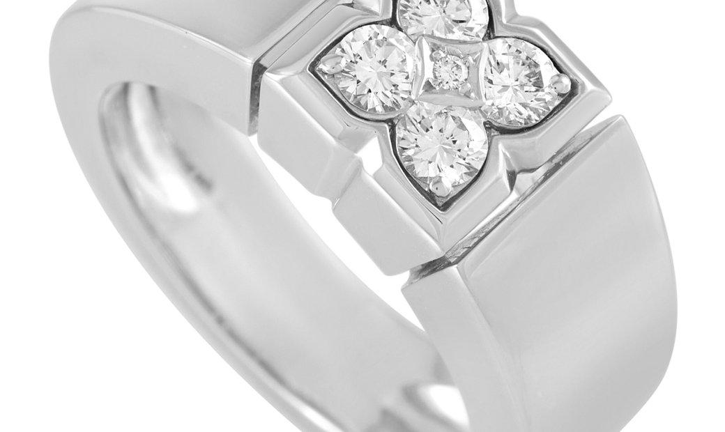 Van Cleef & Arpels Van Cleef & Arpels 18K White Gold 0.40 ct Diamond Ring
