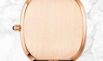 Patek Philippe Ellipse 5738R-001 Golden Ellipse Rose Gold Black Sunburst Dial Onyx Crown