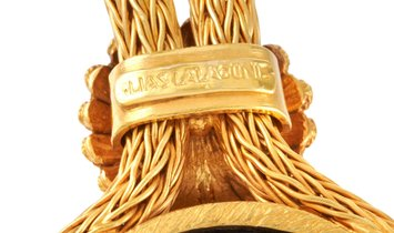 Ilias Lalaounis Ilias Lalaounis 18K Yellow Gold Lapis Pendant Necklace