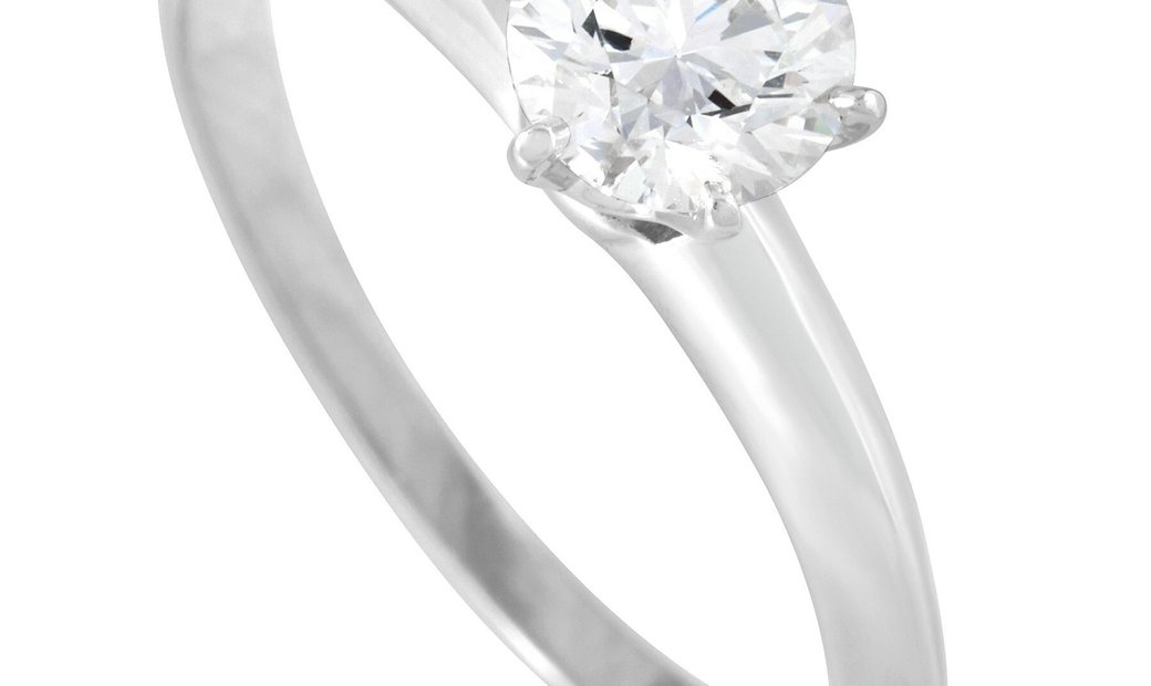 Tiffany & Co. Tiffany & Co. Platinum 0.40 ct Diamond Solitaire Ring