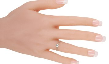 Tiffany & Co. Tiffany & Co. Platinum 0.66 ct Diamond Solitaire Ring