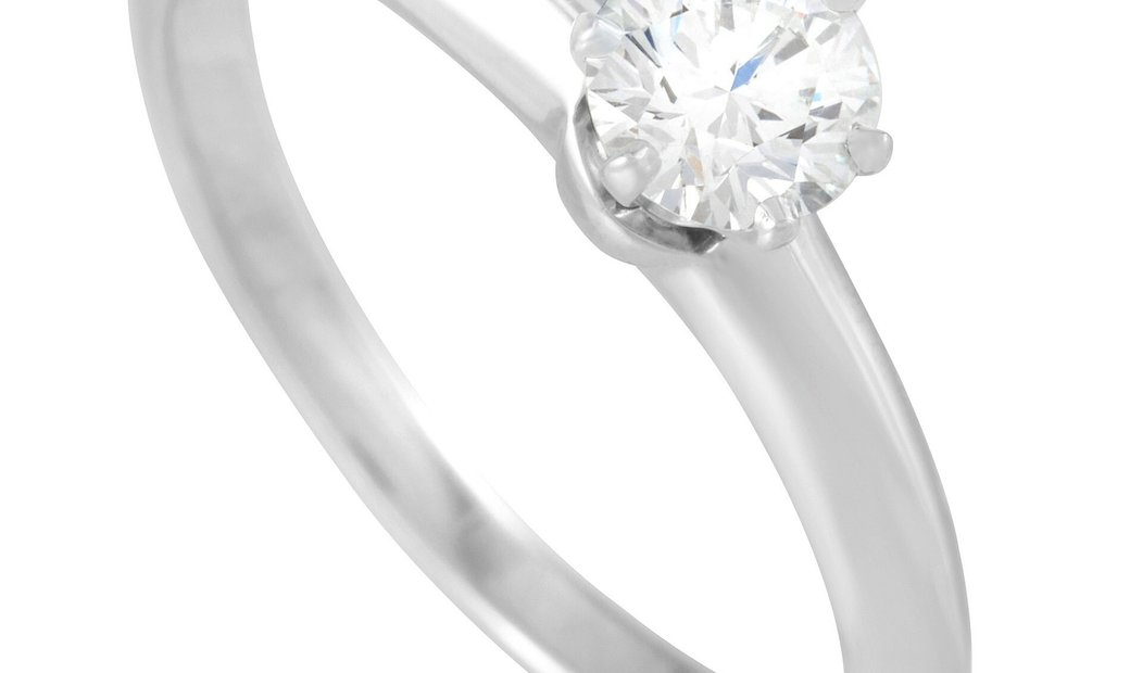 Tiffany & Co. Tiffany & Co. Platinum 0.39 ct  Diamond Solitaire Ring