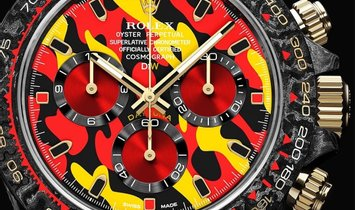 "Rolex DiW Cosmograph Carbon Daytona ""MILITARY YELLOW"" (Retail:US$60,990)"