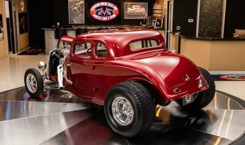 1934 Ford 5-Window Coupe Street Rod